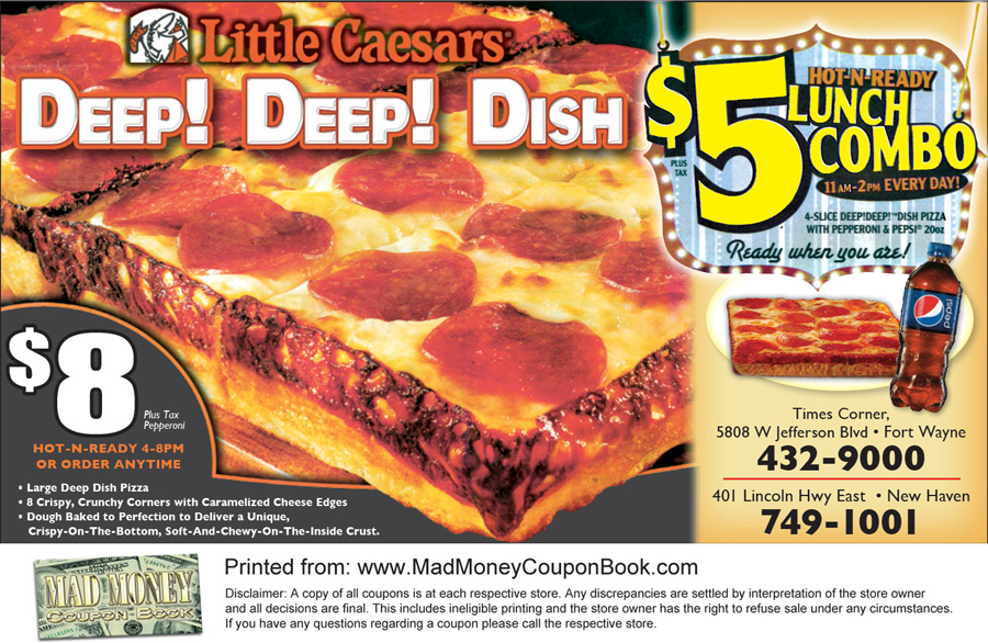Mad mushroom pizza coupon codes