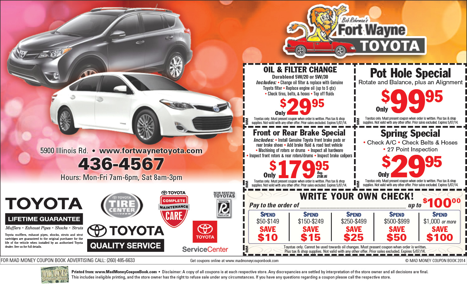 Coupon code toyota part world