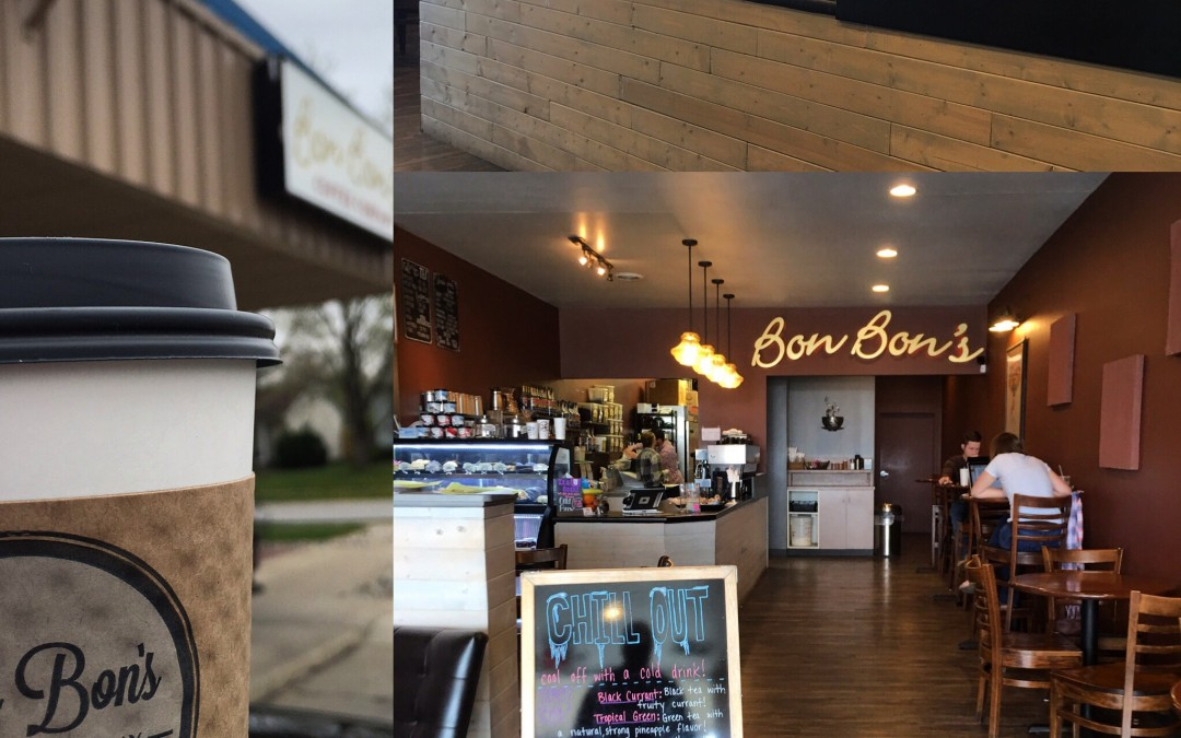 Fuel up with Bon Bon's Coffee Company.