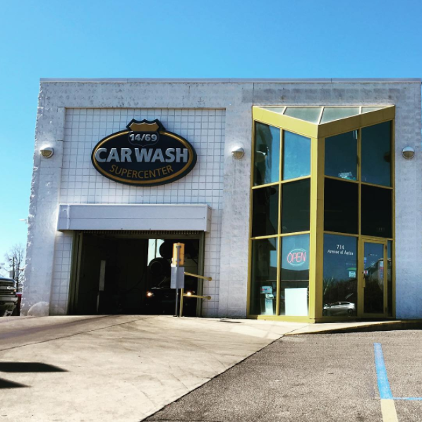 Keep Your Car Squeaky Clean At 14/69 Car Wash Supercenter
