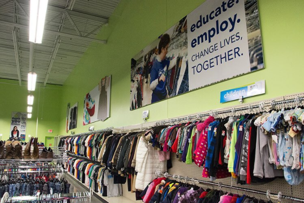 Goodwill working to enhance the dignity and quality of life.