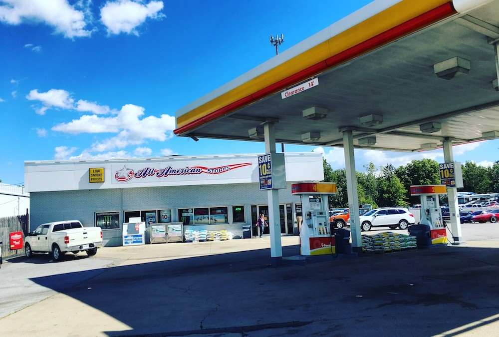 Save on gasoline at Shell All American Stores!